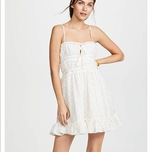 White Dress with Gold detailing